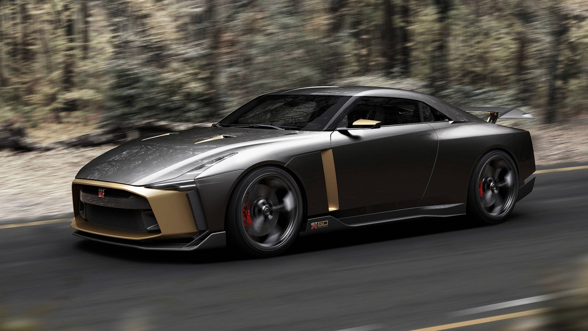 Шоукар Nissan GT-R50 Italdesign оснастили шинами Michelin Pilot Super Sport