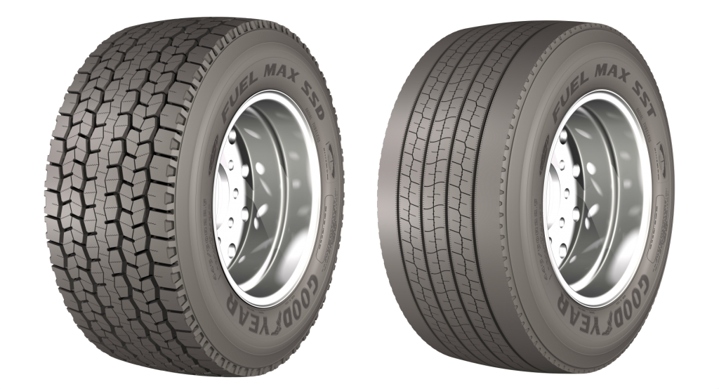 Goodyear Fuel Max SSD and Fuel Max SST truck tyres.png