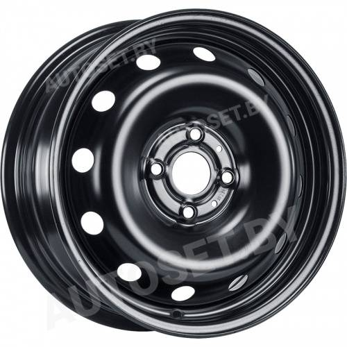 MAGNETTO WHEELS 15003 AM 6,0x15 4/100,0 ET48 D54,1 Черный