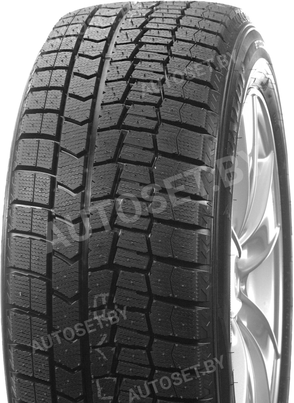 Зимняя шина DUNLOP Winter Maxx WM02 – вид 2